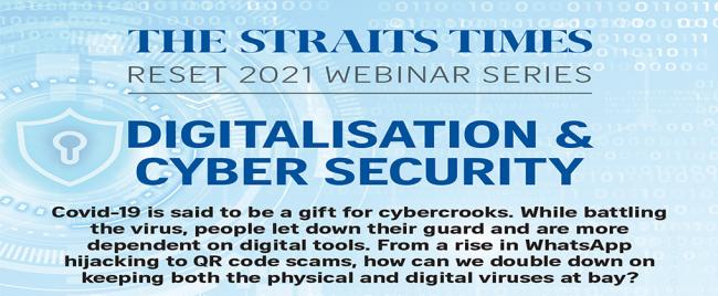 Digitalisation and Cyber Security | Reset 2021 Webinar