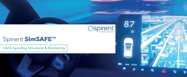 Spirent SimSAFE GNSS Spoofing Simulation & Monitoring