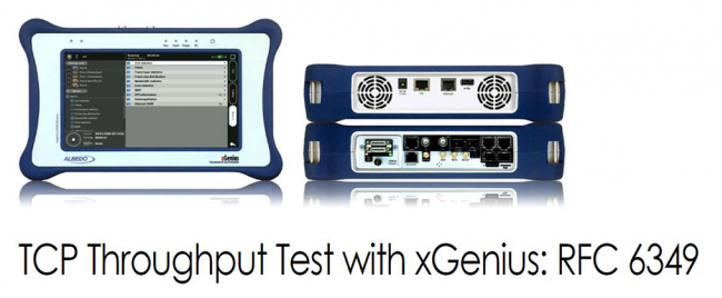 TCP Throughput Test with xGenius: RFC 6349