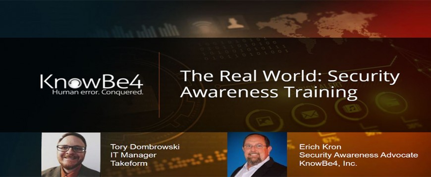 KnowBe4 Webinar: An IT Pro's Experience Building His Last Line Of Defense
