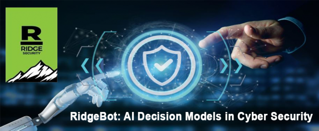 RidgeBot: AI Decision Models in Cyber Security
