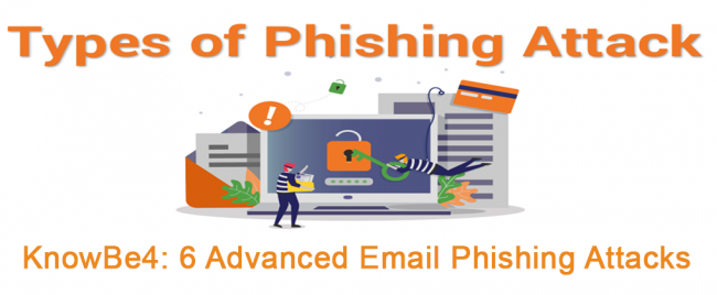 KnowBe4: 6 Advanced Email Phishing Attacks