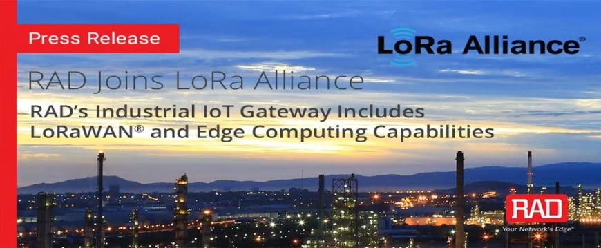 RAD Joins LoRa Alliance