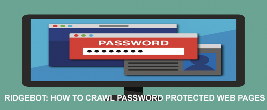 RidgeBot: How to Crawl Password Protected Web Pages
