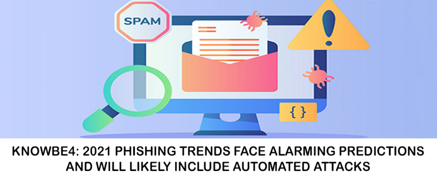 KnowBe4: 2021 Phishing Trends Face Alarming Predictions and Will Likely Include Automated Attacks